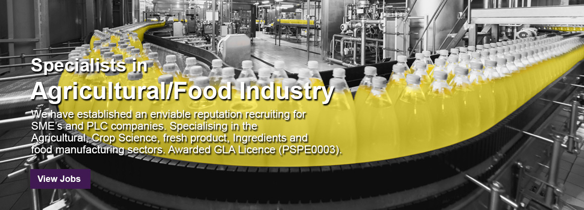Agriculture and Food Industry Jobs