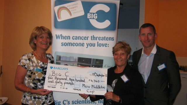 Cheque to Big C