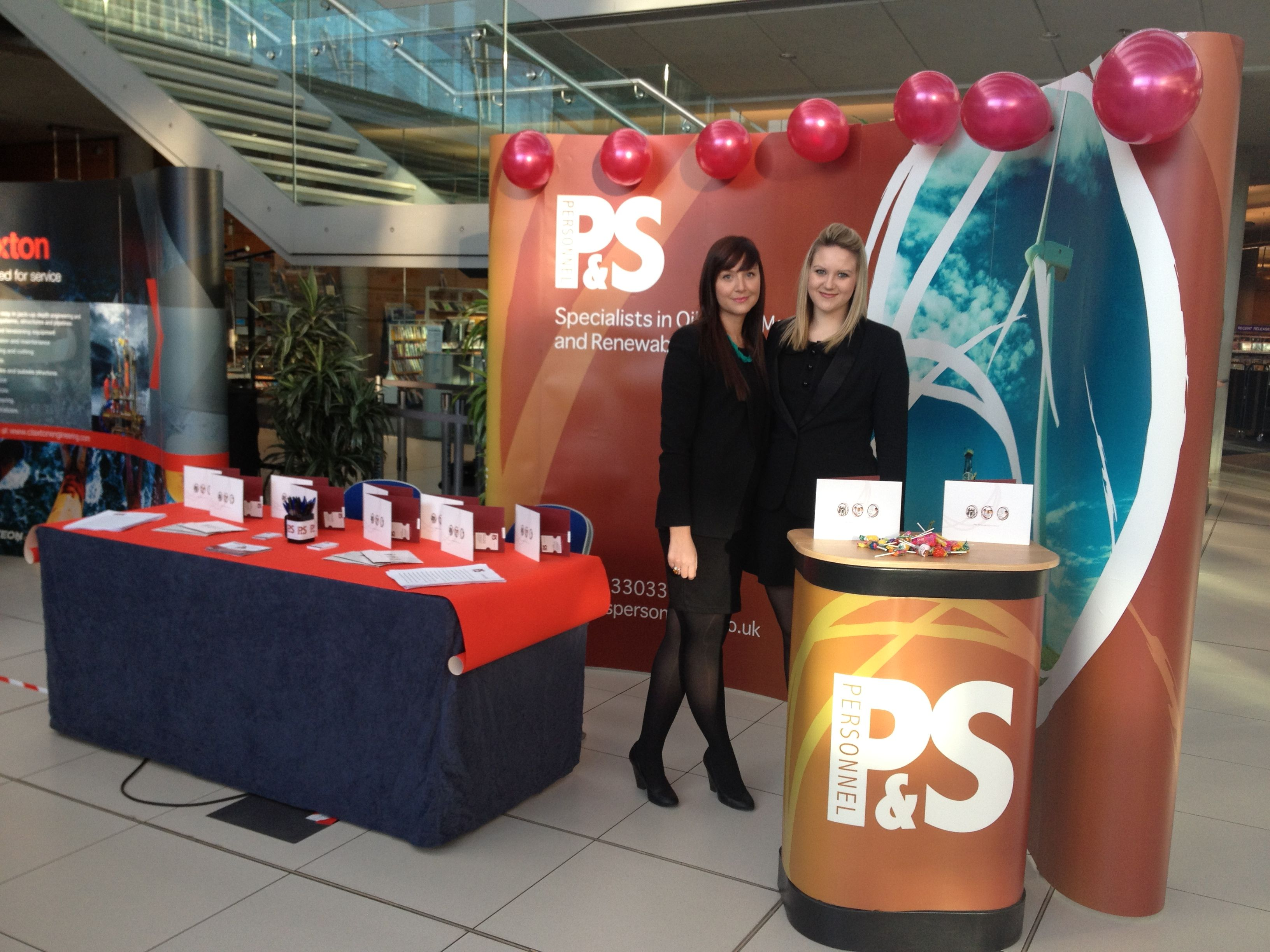 Jobs Fair Success for P&S Team